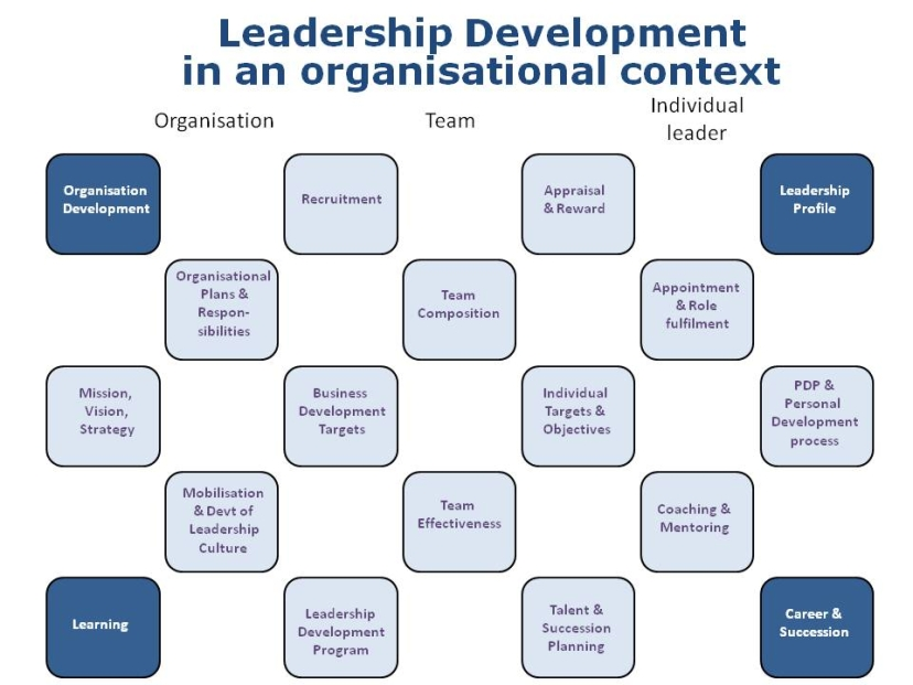 methods of leadership development The best leadership development programs include a strong central leader and a secondary leader, who share years of experience and have effective instruction skills.