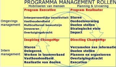 Programma Management Rollen