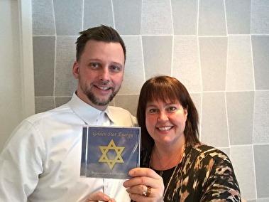 Lars Lind och Ann Ahlgren Golden Star Energy meditations CD