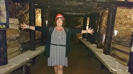 Ann Ahlgren i healing tunnlarna