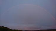 kärlekens regnbåge i Glastonbury
