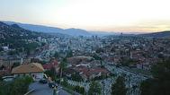 Utsikten över Sarajevo