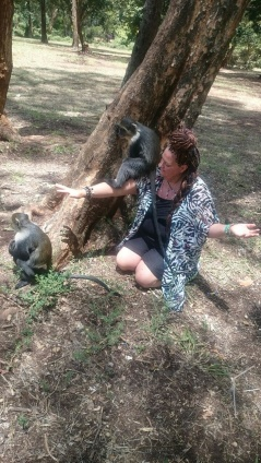 All animals loves Reiki, Kenya
