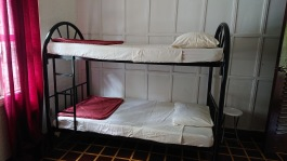 You can rent one of the two bunk beds if you want to stay over the night in the Golden Star Healing Center.