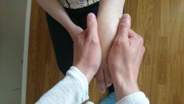 Heal with reflexology and handmassge