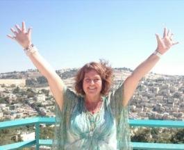 Ann on Mount Sion, Israel
