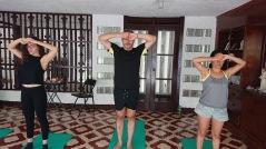 Reiki Yoga, Golden Star healing center, Nicaragua