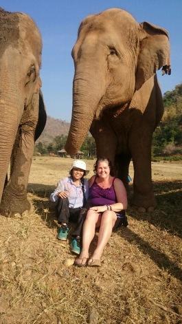 Ann Aglgren Änglavingar med Lek i Thailand.