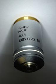 Optik 100x/1,25 Oil -