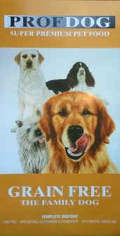 PROF.DOG GRAIN FREE 12 KG - PROF DOG GRAIN FREE 12 kg