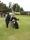Yvonne testar golf