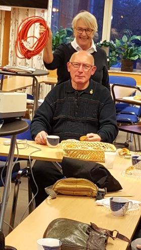 Stig Gustavsson och Lillis Kirsh