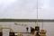 41. Avvecklingen av hamnen är inledd, segelbåtarna hämtas av Rosättravarvet inför vintern