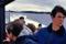 26. Fullt skaft 45 knop! (Tre Isotta Fraschini bensinmotorer à 1500 hk)!  -Marums handel skymtar i bakgrunden.