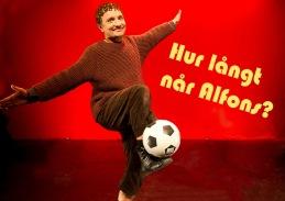 Hur långt når Alfons?