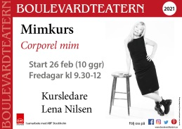 Mimkurs med Lena Nilsen