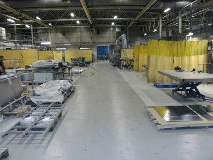 Svetsplatser Syd-tillverkning av rostfria produkter