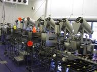 Fyllningsutrustning i rostfritt stål