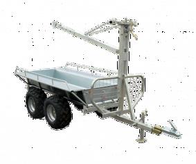 Kombivagn med flak