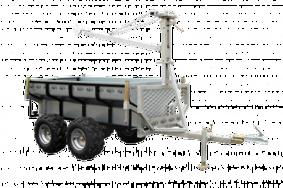 Kombivagn med flak XL