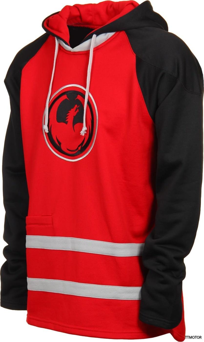 dragon-check-hydro-hoodie-red-black