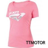 fxr tshirt dam rosa