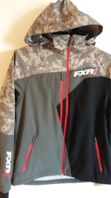 FXR Mission Softshell Herr - FXR Mission Softshell Herr S