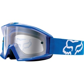 FOX Main Goggles Blue - FOX Main Goggles Blue clear Lens
