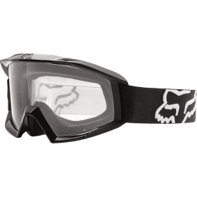 FOX Main Goggles Black - FOX Main Goggles Black clear lens