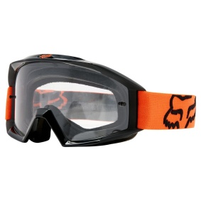 FOX Main Goggles Orange - FOX Main Goggles Orange clear lens