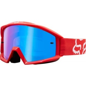 FOX Main Race Goggles Red - FOX Main Race Goggles Red