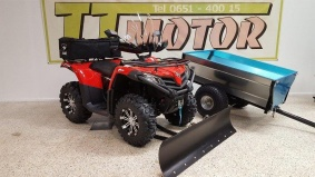 CF Moto Cforce 520 Traktor B Plogpaket -19 - CF Moto Cforce 520 Traktor B med Gårdsvagn -17