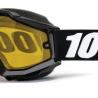 100% Snow Goggle Accuri TORNADO MIRROR GOLD