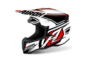 Airoh Twist Helmet Avenger White - Airoh Twist Helmet Avenger White L