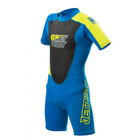 Jetpilot THE CAUSE 2mm Youth Springsuit Blue - Jetpilot THE CAUSE 2mm Youth Springsuit Blue L