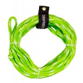 Obrien 2-Personer Tubelina (2375lbs.) Grön och vit - Obrien 2-Personer Tubelina (2375lbs.) Grön och vit