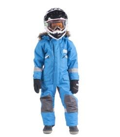 Snowpeople Junior Monosuit Kodiak blå - Snowpeople Junior Monosuit Kodiak blå 120