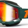 100% Accuri Gun Metal Snow Goggle - Red Mirror L.