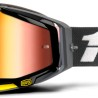 100% Racecraft Fortis - Mirror Red Lens