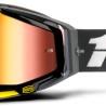 100% Racecraft Fortis - Mirror Red Lens