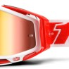 100% Racecraft Bilal - Mirror Red Lens