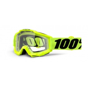 100%, ACCURI FLUO YELLOW - CLEAR LENS - 100%, ACCURI FLUO YELLOW - CLEAR LENS