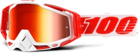 100% Racecraft Bilal - Mirror Red Lens - 100% Racecraft Bilal - Mirror Red Lens