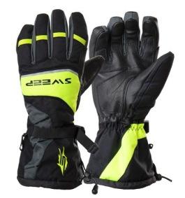 Sweep Handske Snow Rush, svart/gul/grå - Sweep Handske Snow Rush, svart/gul/grå S