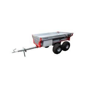 Ultratec Dumpersvagn med hydraulisk tipp och bakkant (en motor behövs)