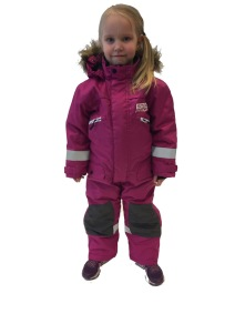 Snowpeople Junior Monosuit Kodiak pink - Snowpeople Junior Monosuit Kodiak pink 120