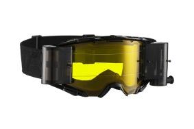 Leatt Goggle Velocity 6.5 Roll-Off Svart/Grå/Gul - Leatt Goggle Velocity 6.5 Roll-Off Svart/Grå/Gul