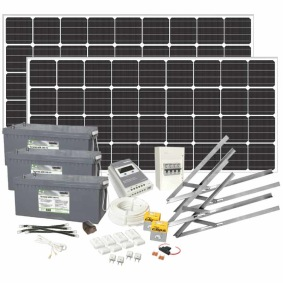 Solpanelspaket 400W Basic