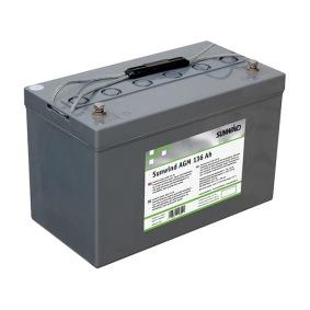 Batteri Sunwind AGM 136Ah