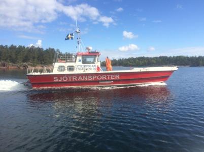 Arbetsbåten URHO
